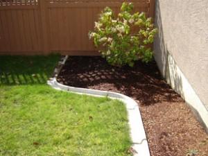 Mackay Precast Concrete Garden Lawn Edging Bullnose Lawn