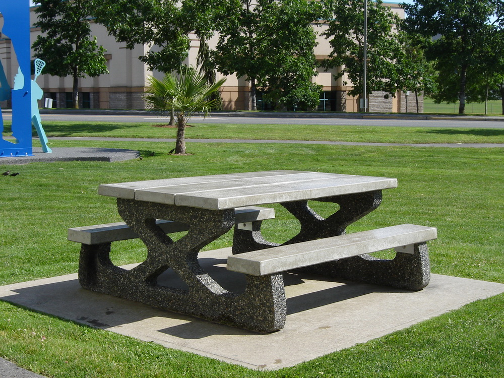 Mackay Picnic Table Standard Mackay Precast Products