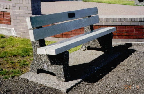 Park Bench Mackay Precast Products