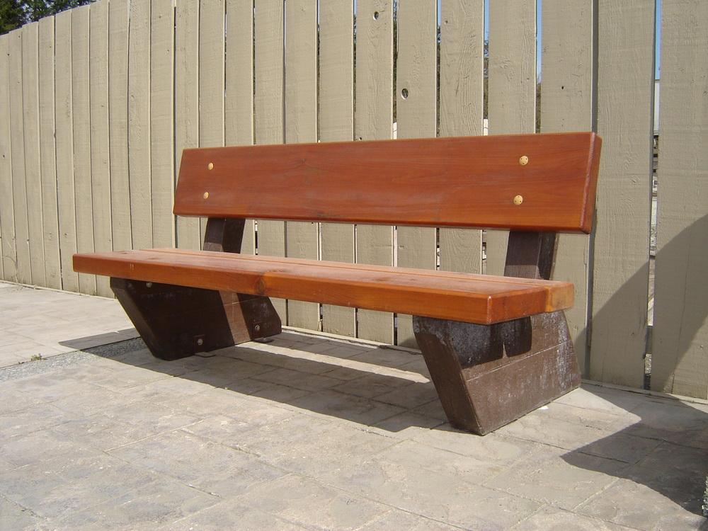 Rustic Bench Mackay Precast Products