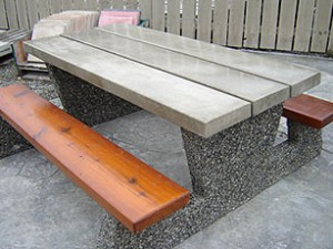 Strange Mackay Precast Products Precast Concrete Outdoor Tables Interior Design Ideas Clesiryabchikinfo